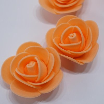 画像3: 【S】フラワーベア用 ローズヘッド オレンジ 100輪