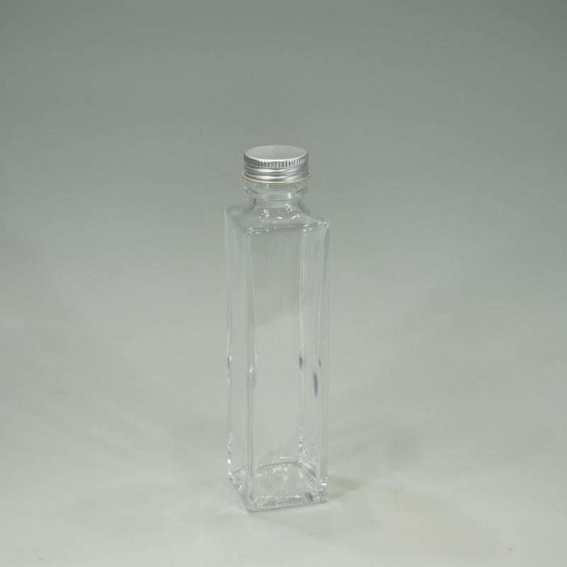 画像1: 【卸】ハーバリウム瓶 スリム150角 (1)