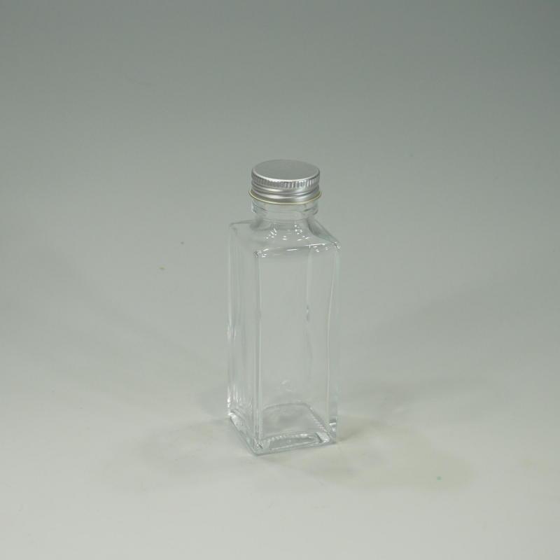 画像1: 【卸】ハーバリウム瓶 スリム100角 (1)