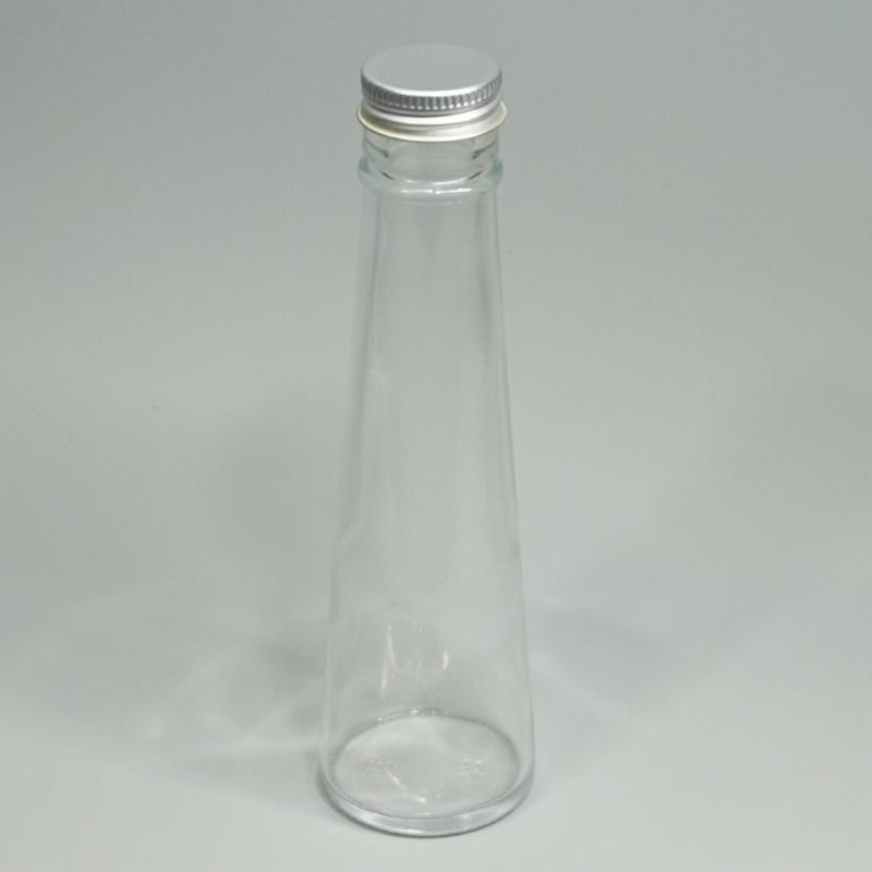 画像1: 【A】ハーバリウム瓶 テーパー120 三角錐 (1)